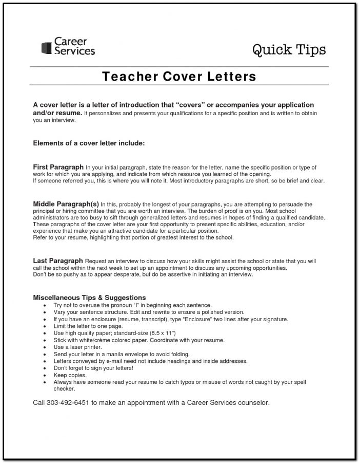 Sample Cover Letter For Graduate Teaching Assistant Job