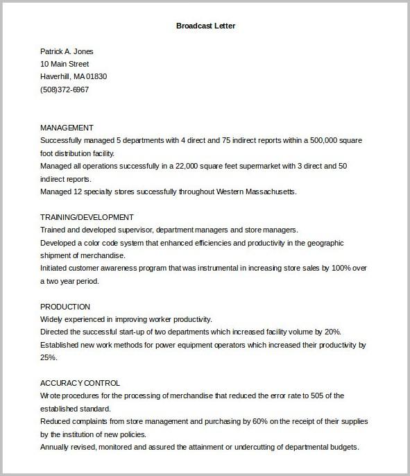 Sample Cover Letter For Job Application Free Download