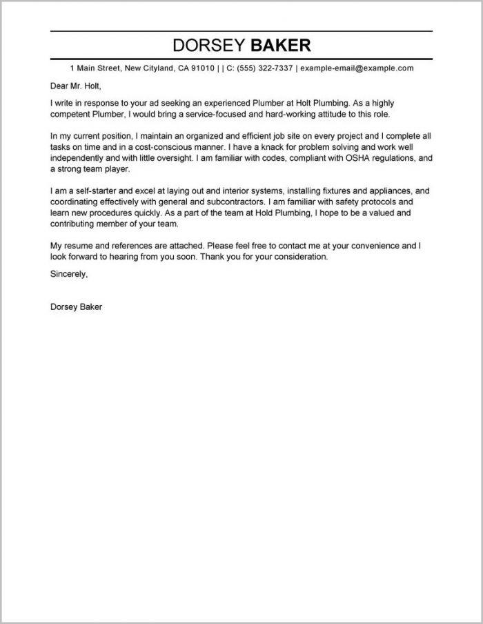 Sample Cover Letter For Electrician Helper Cover Letter Resume
