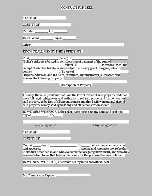 Special Warranty Deed Form Oklahoma