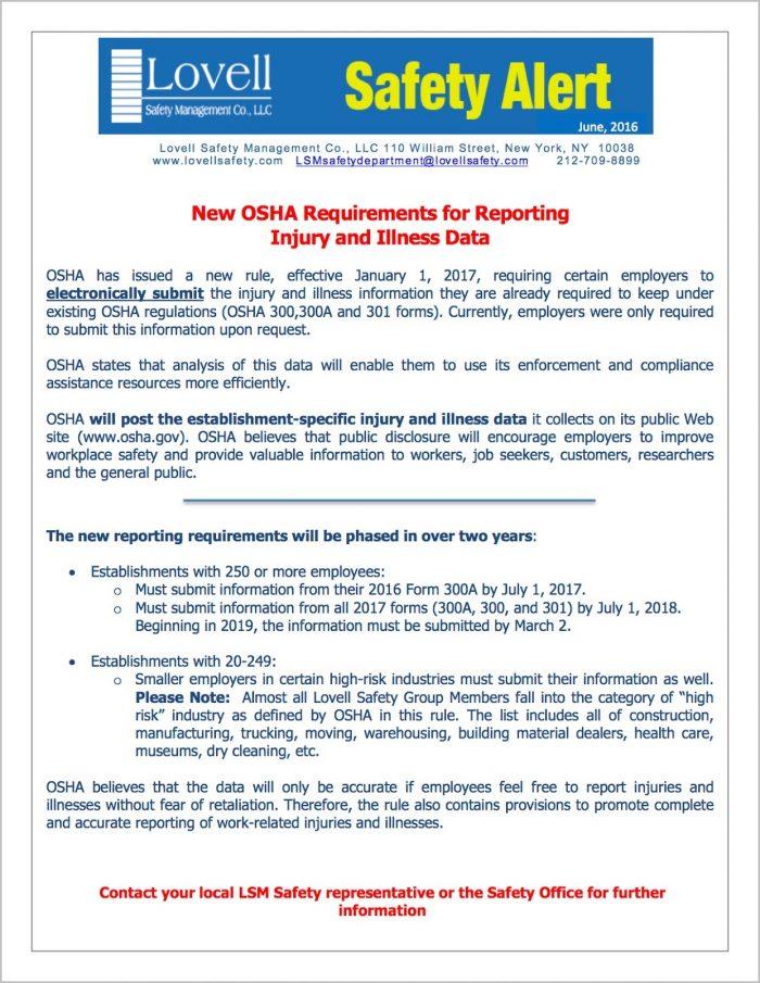 Submit Osha Form 300a