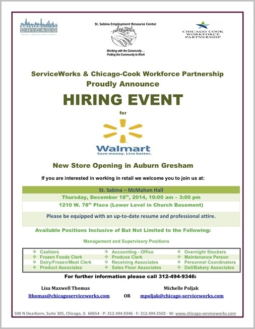 Walmart Supercenter Job Openings