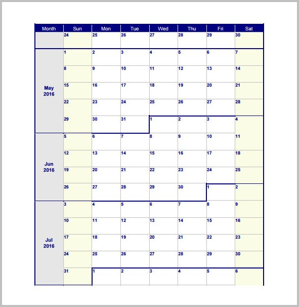Work Schedule Template Pdf