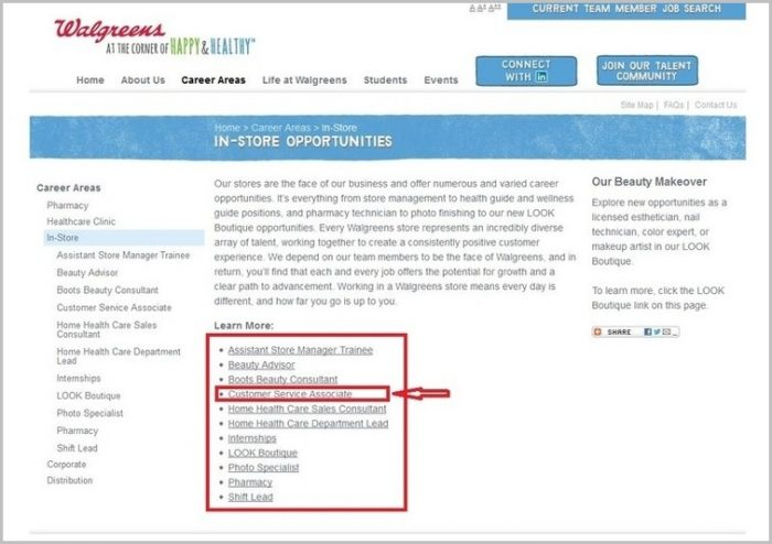Www Walgreens Jobs Job Application Form