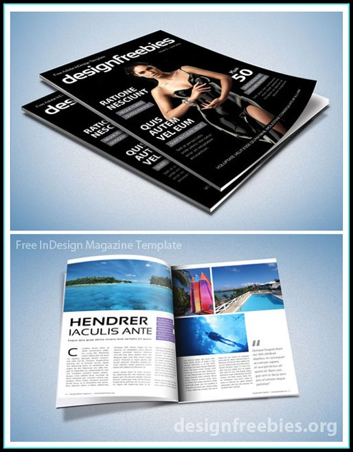 Adobe Indesign Newsletter Template Free
