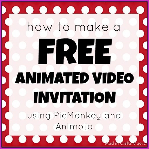 Birthday Invitation Video Maker Online