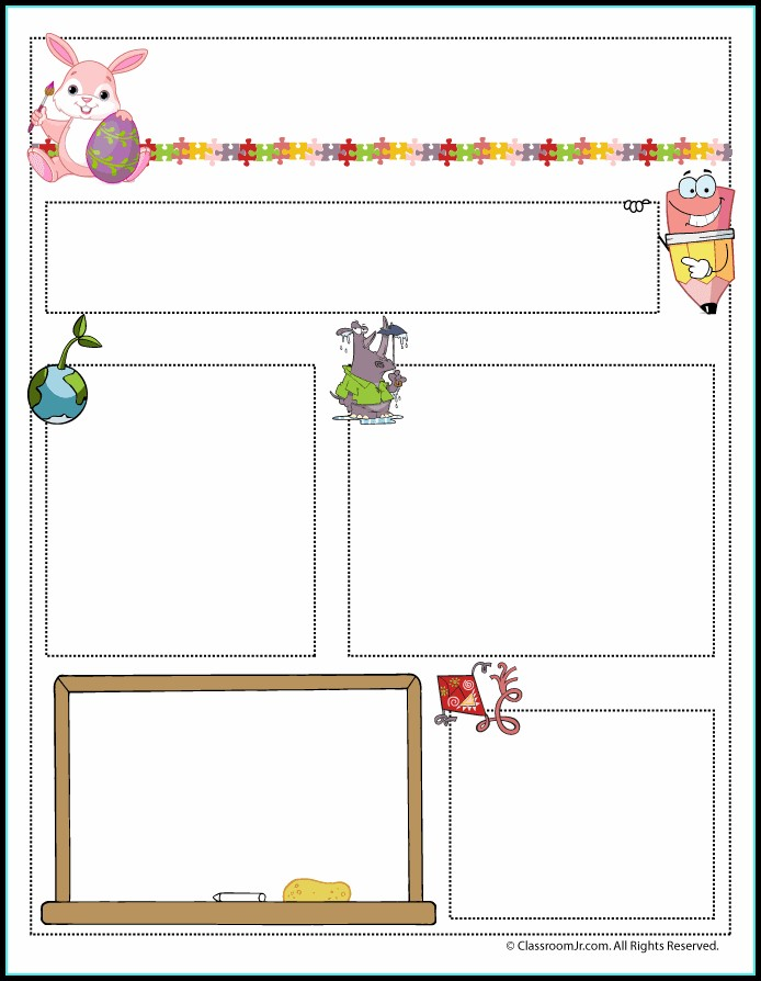 Free Editable Newsletter Templates For Preschool Teachers