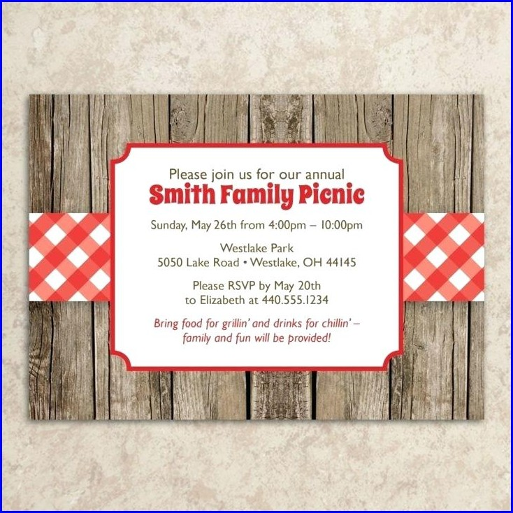 picture about Free Printable Picnic Invitation Template known as Impression Of Business Picnic Invitation Template cost-free printable