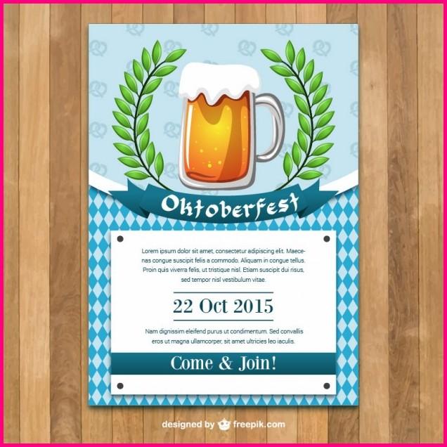 Free Printable Oktoberfest Invitations Templates