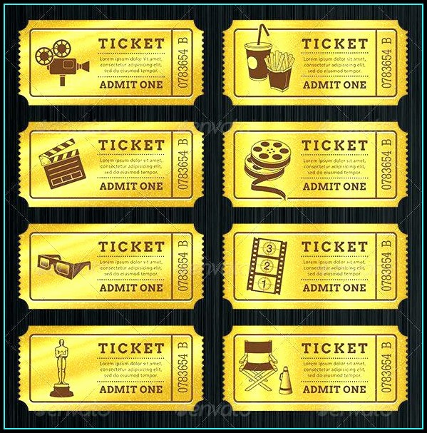 Free Printable Prom Ticket Template