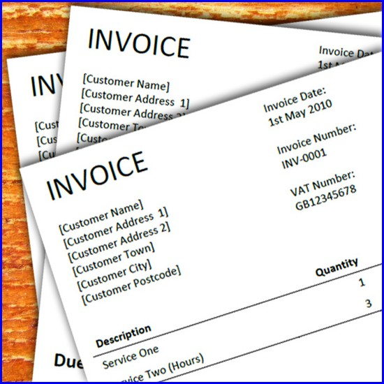 Freelance Journalist Invoice Template Uk