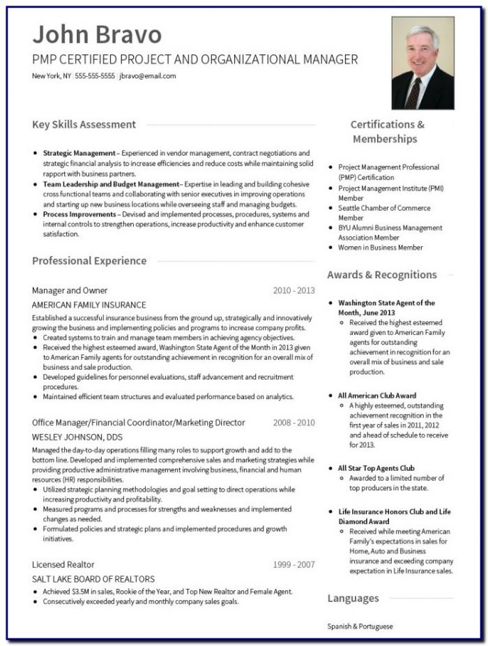 New Professional Resume Template