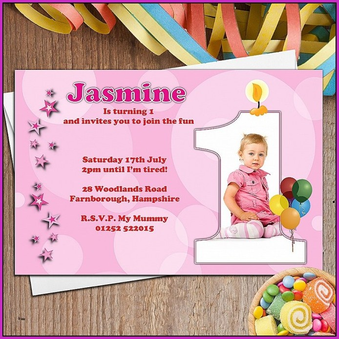 First Birthday Invitation Templates India Templates 1 Resume Examples