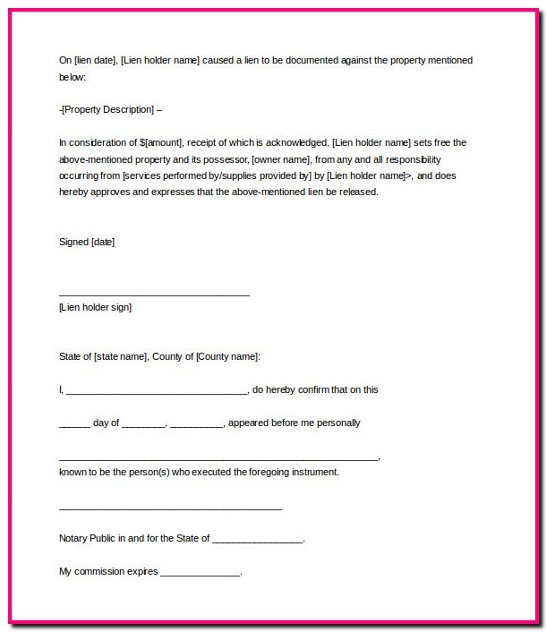 Promissory Note Template With Notary
