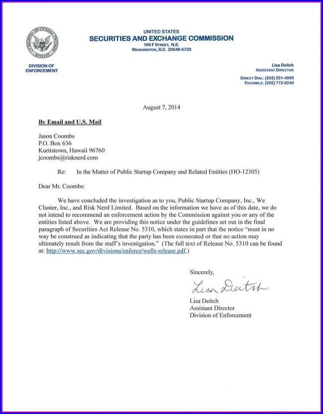 Real Estate Contract Cancellation Letter Template