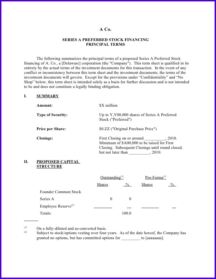 Real Estate Investor Contract Template