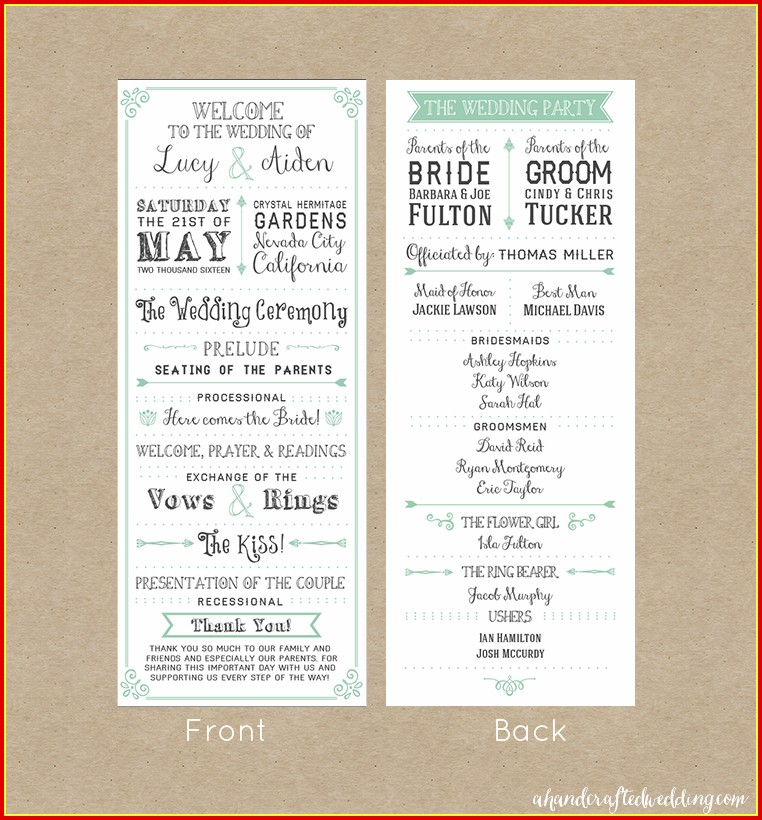 Wedding Boutique Us Free Program Templates