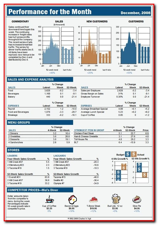 Buy Excel Dashboard Templates