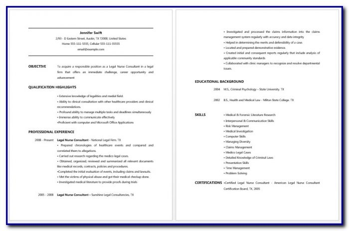 Nursing Assistant Resume Template Microsoft Word