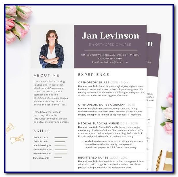 Nursing Resume Template Microsoft Word