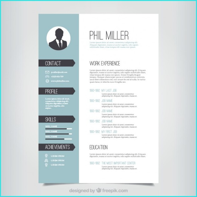 Designer Resume Templates Free Download