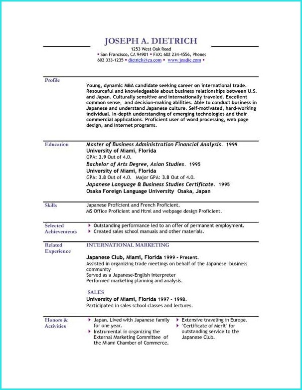 Download Resume Templates 2017