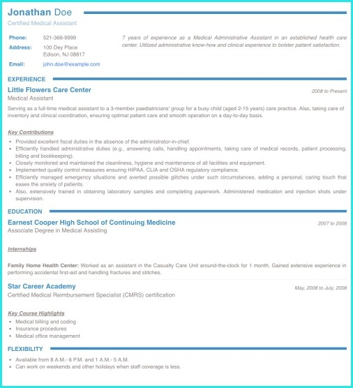 best resume example ideas