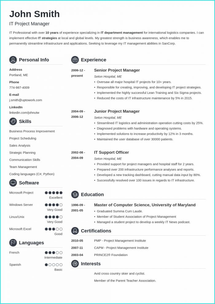 How To Download Resume Templates