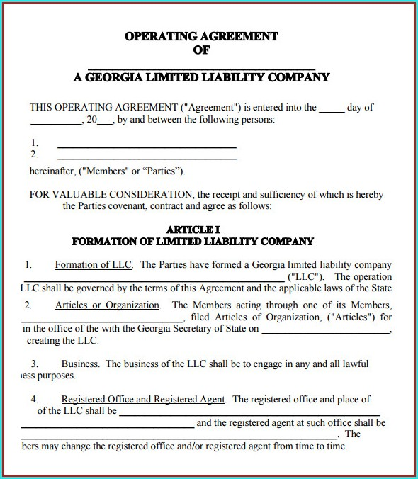 Residential Sublease Agreement Template