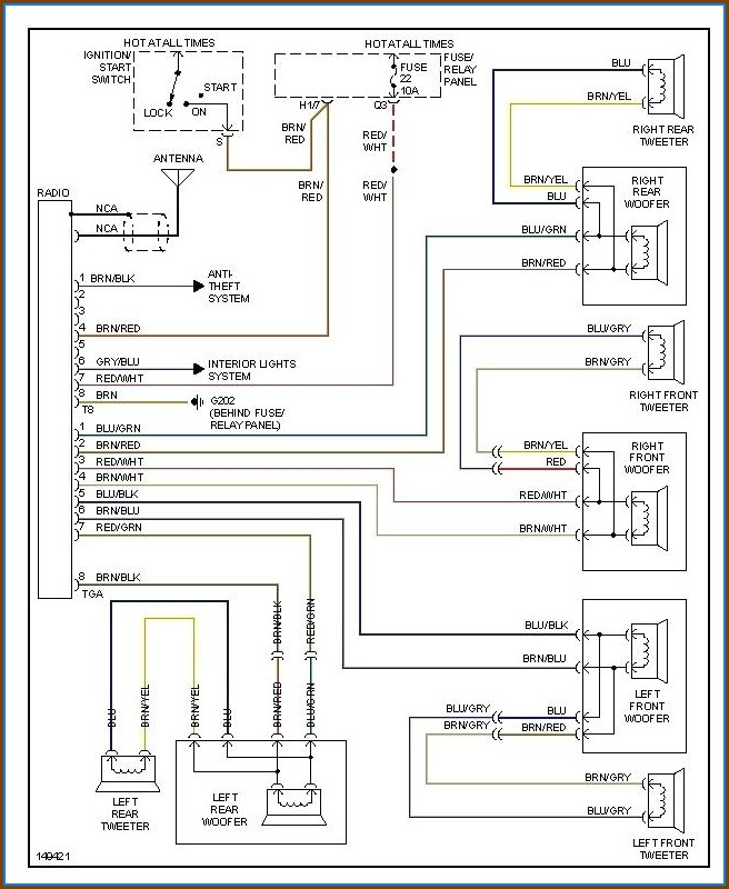 Alpine Car Stereo Wiring Diagram