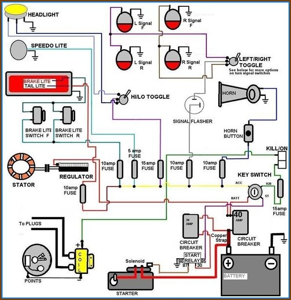 Automotive Wiring Diagram Symbol Key