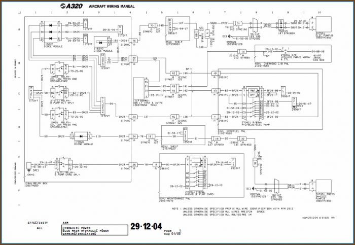 Boeing Wiring Diagram Symbols
