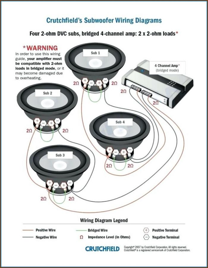 Car Stereo Speaker Wiring Diagram
