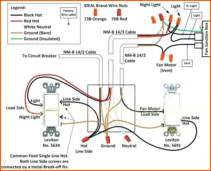 Ceiling Fan Wiring Diagram 4 Wire