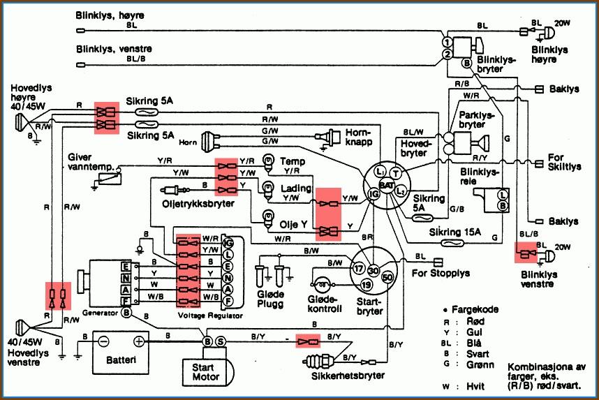 Electronic Wiring Diagram Symbols
