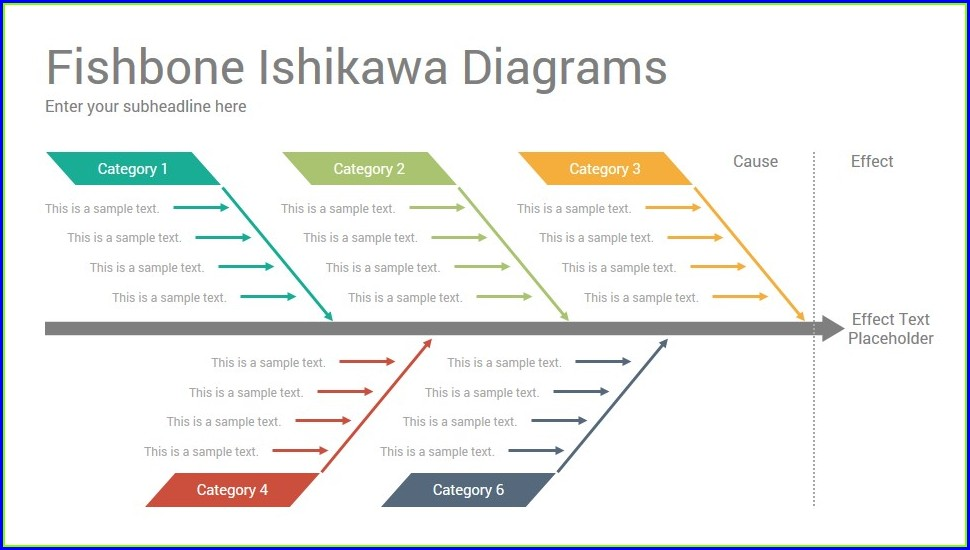 Fishbone Diagram Template Google Docs