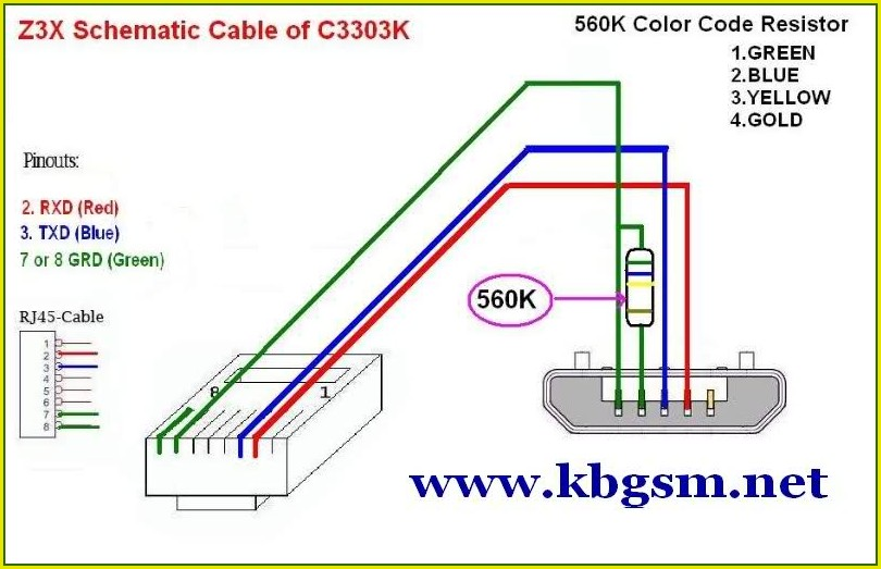 Micro Usb To Rj45 Wiring Diagram