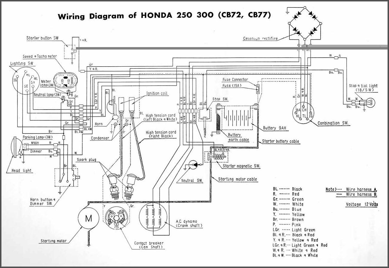 Motorcycle Wiring Diagram Symbols