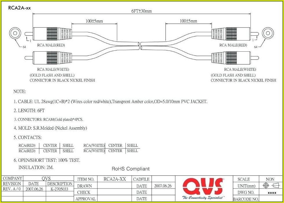 Rca To Rj45 Wiring Diagram