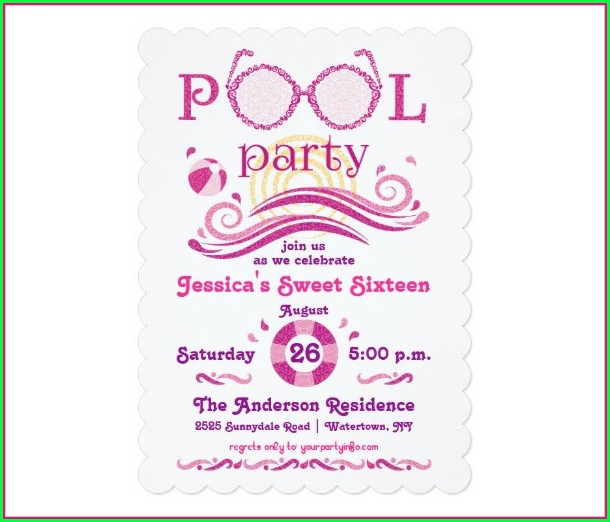 Downloadable 16th Birthday Invitation Templates Free