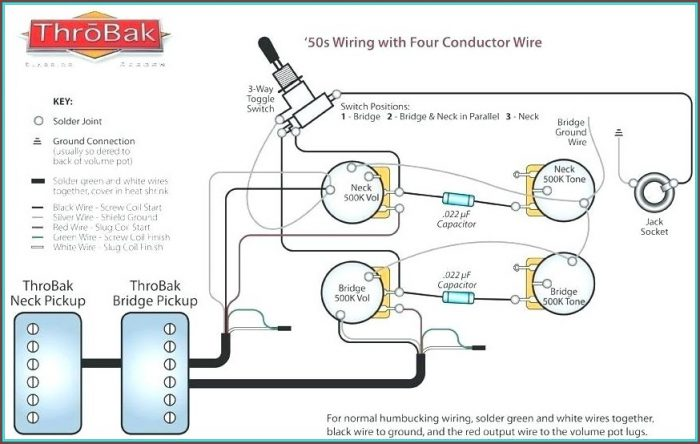 Electric Guitar Wiring Diagrams