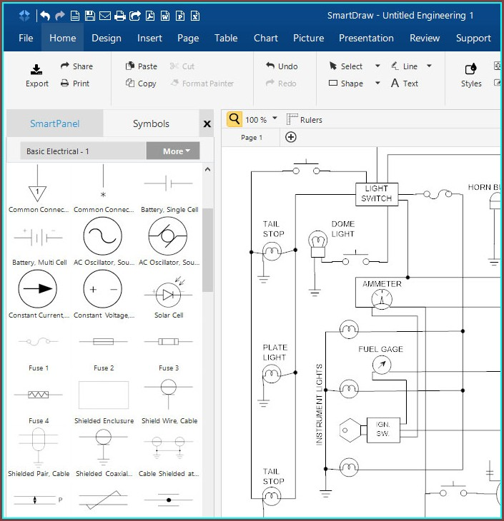 Electrical Wiring Diagram Software Free Download