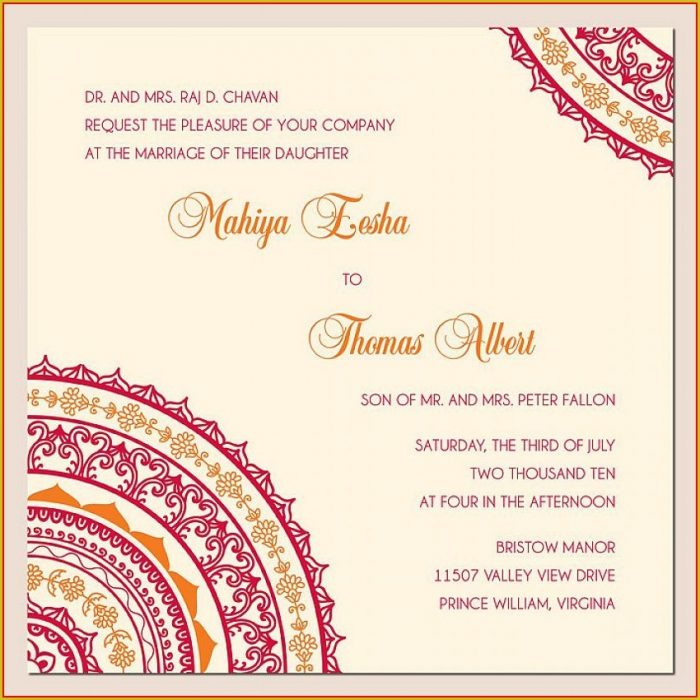Engagement Invite Templates Indian