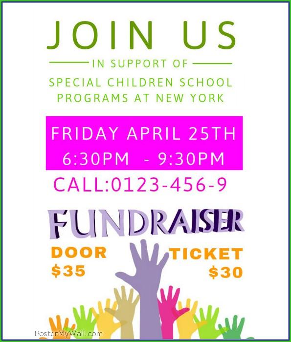 Fundraiser Flyer Templates Free
