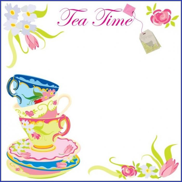 Tea Party Invitation Templates Free