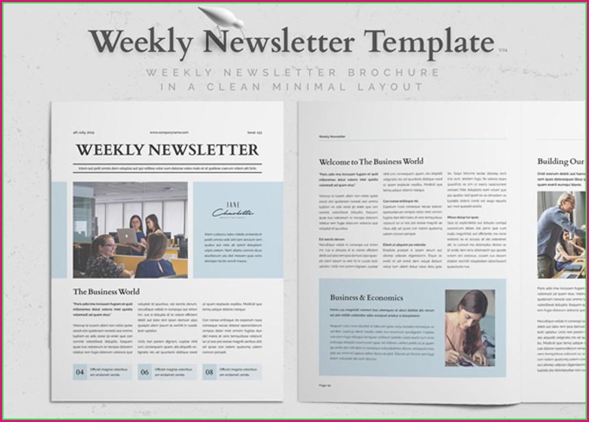Adobe Indesign Newsletter Templates