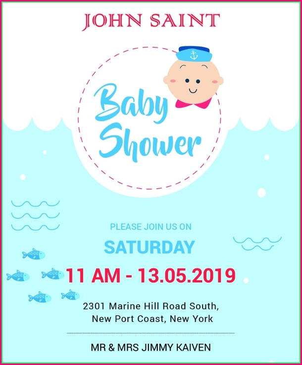 Baby Sprinkle Invitations Templates Editable