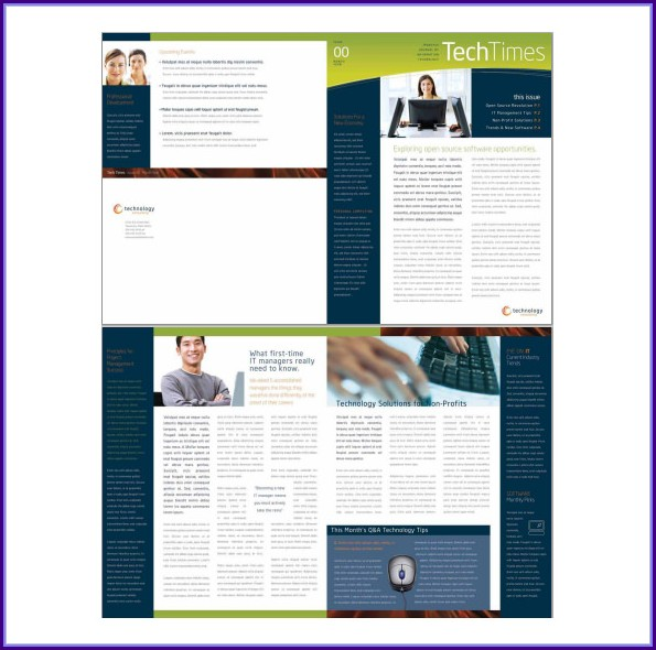 Corporate Newsletter Templates Free Download