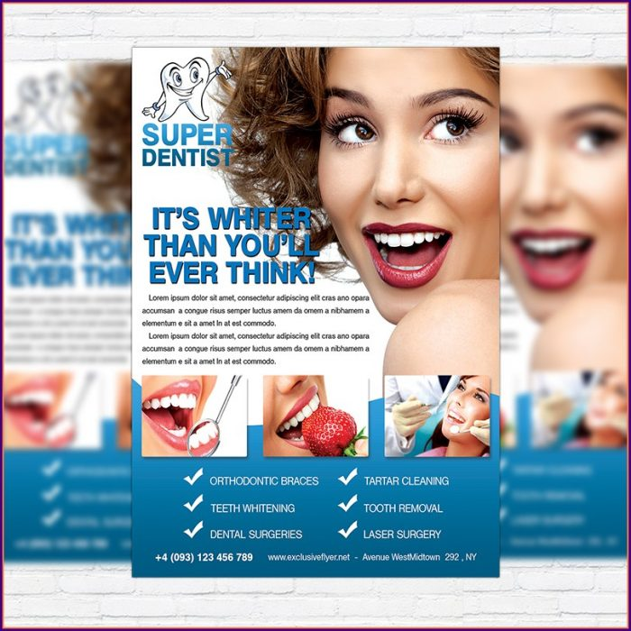 Dental Flyer Templates Free