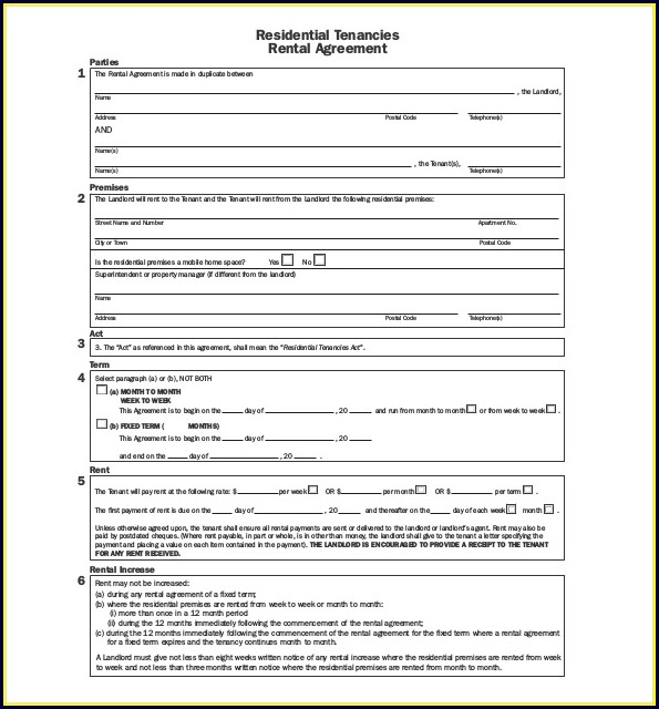 Downloadable Basic Lease Agreement Template